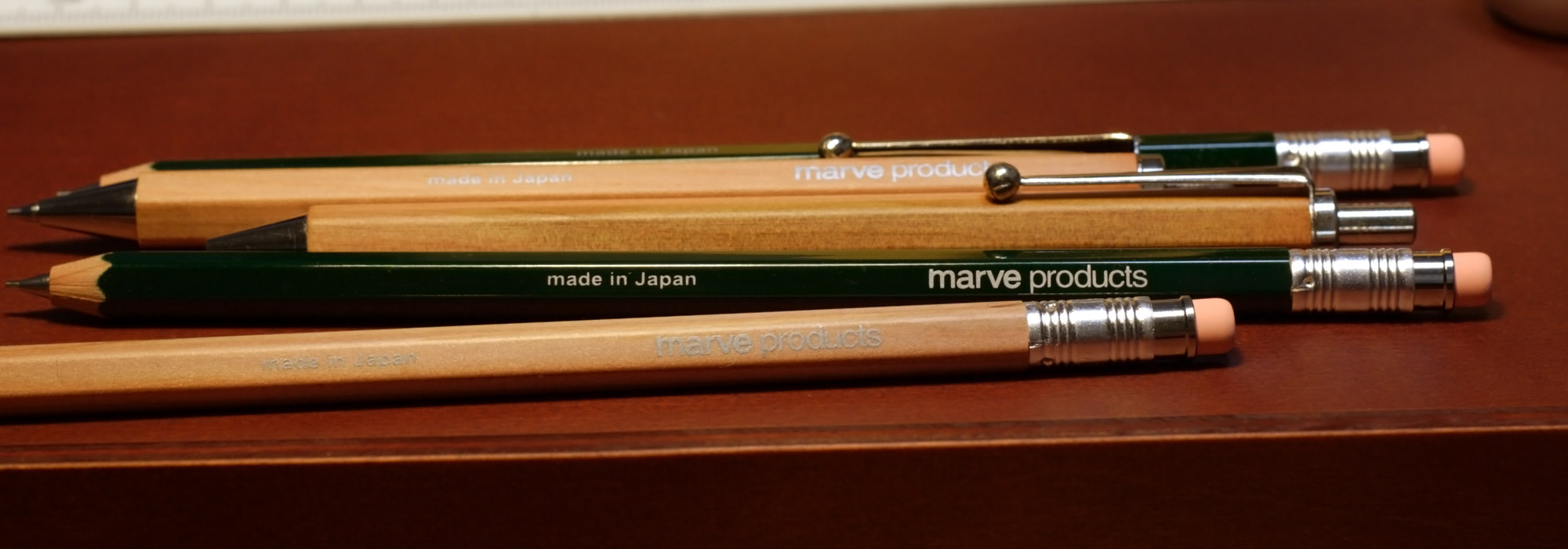 marve-products 木軸ペン